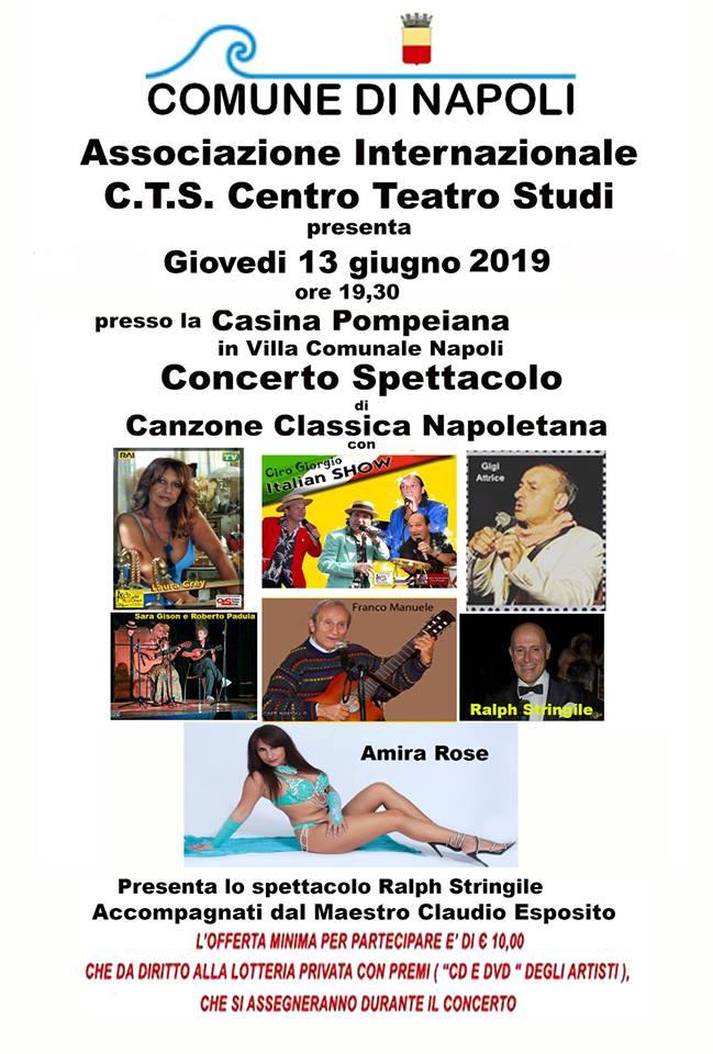 Ciro Giorgio ed i concerti per l'estate alla Casina Pompeiana