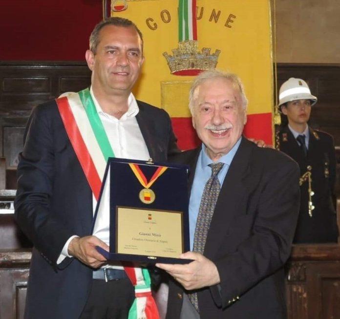 """Gianni Minà è cittadino onorario di Napoli: """"Il rispetto umano prima di tutto"""""""