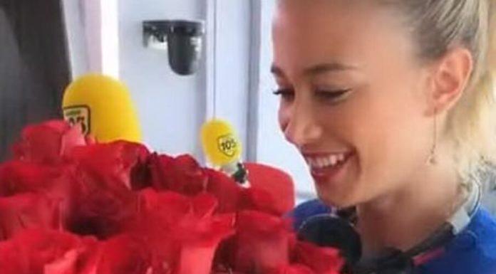 Diletta Leotta, tante rose rosse da un ammiratore segreto: è Marco Borriello?