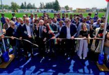 Universiade, Vincenzo De Luca taglia il nastro sul campo di Rugby di Boscotrecase