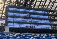 Universiade: E' pronto il maxi schermo allo Stadio San Paolo
