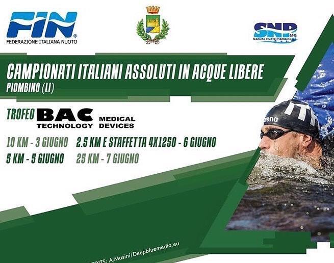 Nuoto: Settimana ricca di impegni a Piombino per il Circolo Canottieri Napoli
