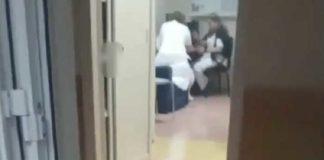 Ospedale di Nola, bimbo piange mentre le infermiere si mettono lo smalto