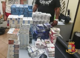 Ponticelli: Sequestrati 14 kg circa di sigarette di contrabbando. Arrestate due persone