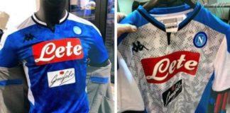 Calcio Napoli, spunta dai social la nuova maglia: sarà azzurra con fasce bianche