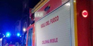 Ponticelli: paura per un incendio in una nota pizzeria del quartiere