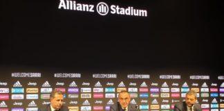 """Sarri: """"A Napoli ho dato tutto, ma la Juve è il coronamento di una carriera"""""""