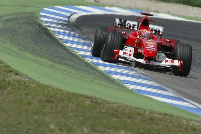 A Hockenheim, Mick Schumacher guiderà la F2004 del padre Michael