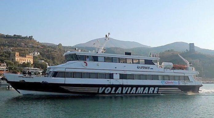 Cilento: ripartono i collegamenti marittimi con Volaviamare