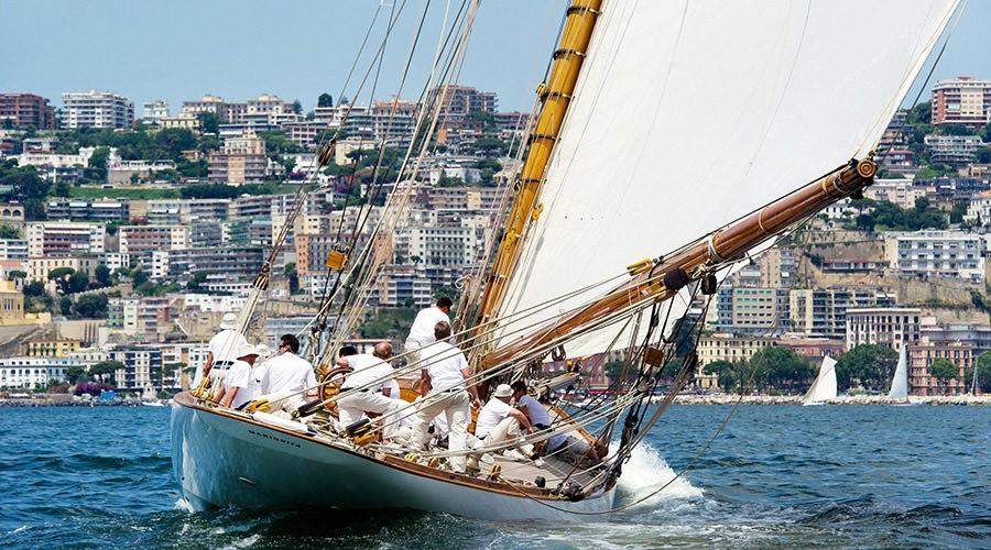 Napoli, ritorna Vele d'Epoca: la 16ma edizione dal 27 al 30 giugno