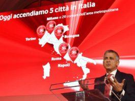 Vodafone, anche Napoli tra le cinque città italiane in cui arriva il 5G