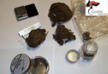 San Giorgio del Sannio: Arrestato artigiano 54enne. Nascondeva marijuana nel garage