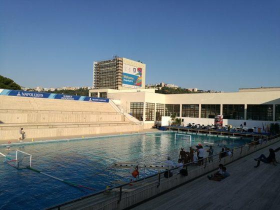 Mostra d'Oltremare: Festa per l'apertura della piscina. Orari e tariffe
