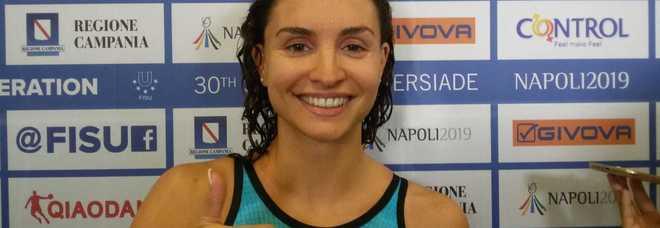 Universiade Napoli 2019: I risultati delle gare del 9 luglio. Nuoto, oro per Silvia Scala