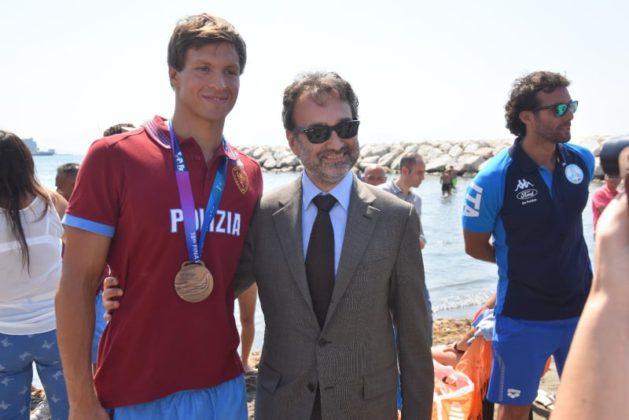 """Sul Lungomare di Napoli l'evento """"Nuotiamo e surfiamo insieme a Mappatella Beach"""""""