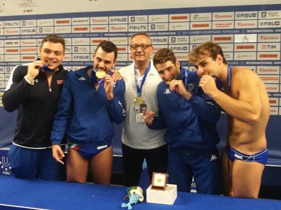 Universiade, ecco gli atleti campani che sono saliti sul podio