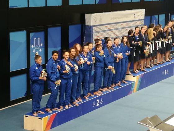 Universiade, Pallanuoto: E' solo argento per il Setterosa. Vince l'Ungheria 8 a 7