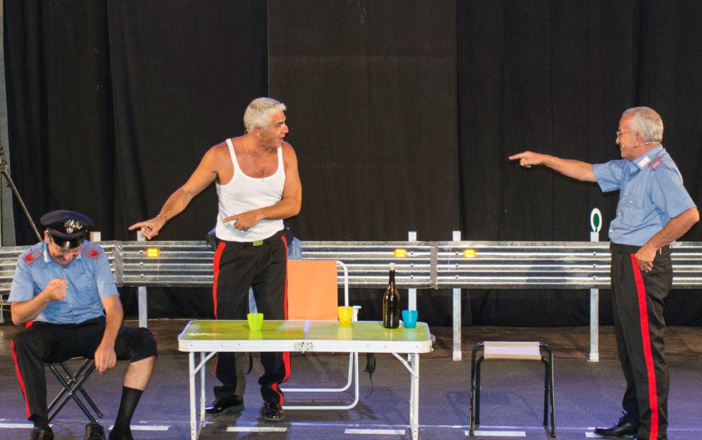 Biagio Izzo all'Arena Flegrea con la commedia 'Autovelox'