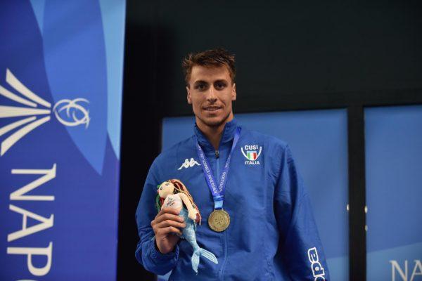 Universiade Napoli 2019: I risultati delle gare di oggi 8 luglio. Argento nel nuoto per Occhipinti