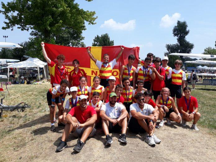 Canottaggio: Bottino di medaglie per la Canottieri Napoli al Campionato Italiano Giovanile