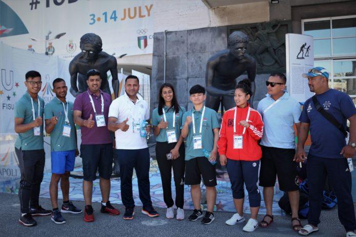 Universiade, gli atleti del Nepal niente medaglie ma vincono le emozioni vissute