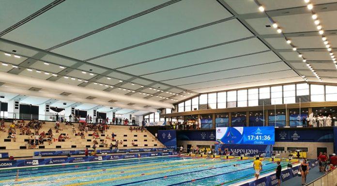 """La piscina Scandone """"riapre"""" con il Primo Campionato Italiano di Categoria di Nuoto"""