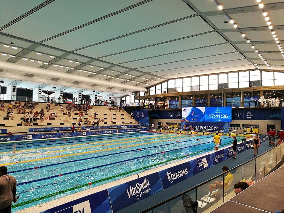 Universiade Napoli 2019: I risultati delle gare di oggi 4 luglio