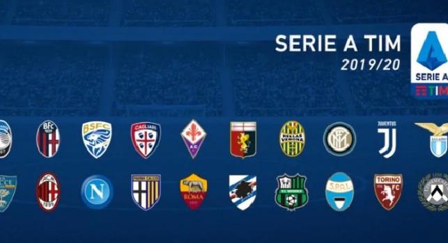 Serie A: anticipi e posticipi fino alla sedicesima giornata