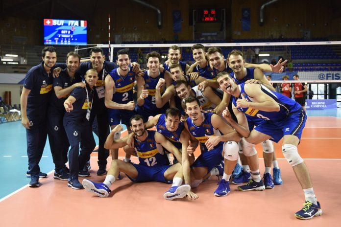Universiade Napoli 2019, pallavolo maschile: E' oro per l'Italia