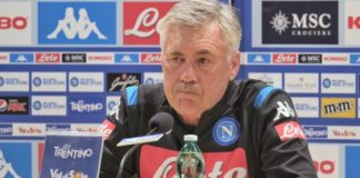 """Calcio Napoli, Ancelotti: """"James ha qualità, apprezzo Icardi"""""""