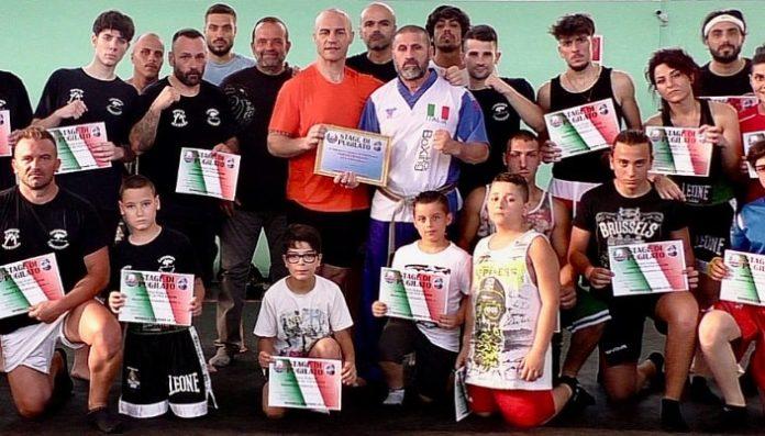 Boxers Improta: uno stage di pugilato col campione dei pesi massimi Sergio Romano