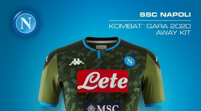 Calcio Napoli, ecco la seconda e la terza maglia: saranno bianca e verde