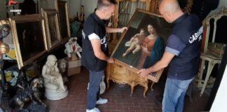 Blitz contro ricettatori di opere d'arte: cinque arresti nell'operazione Antiques