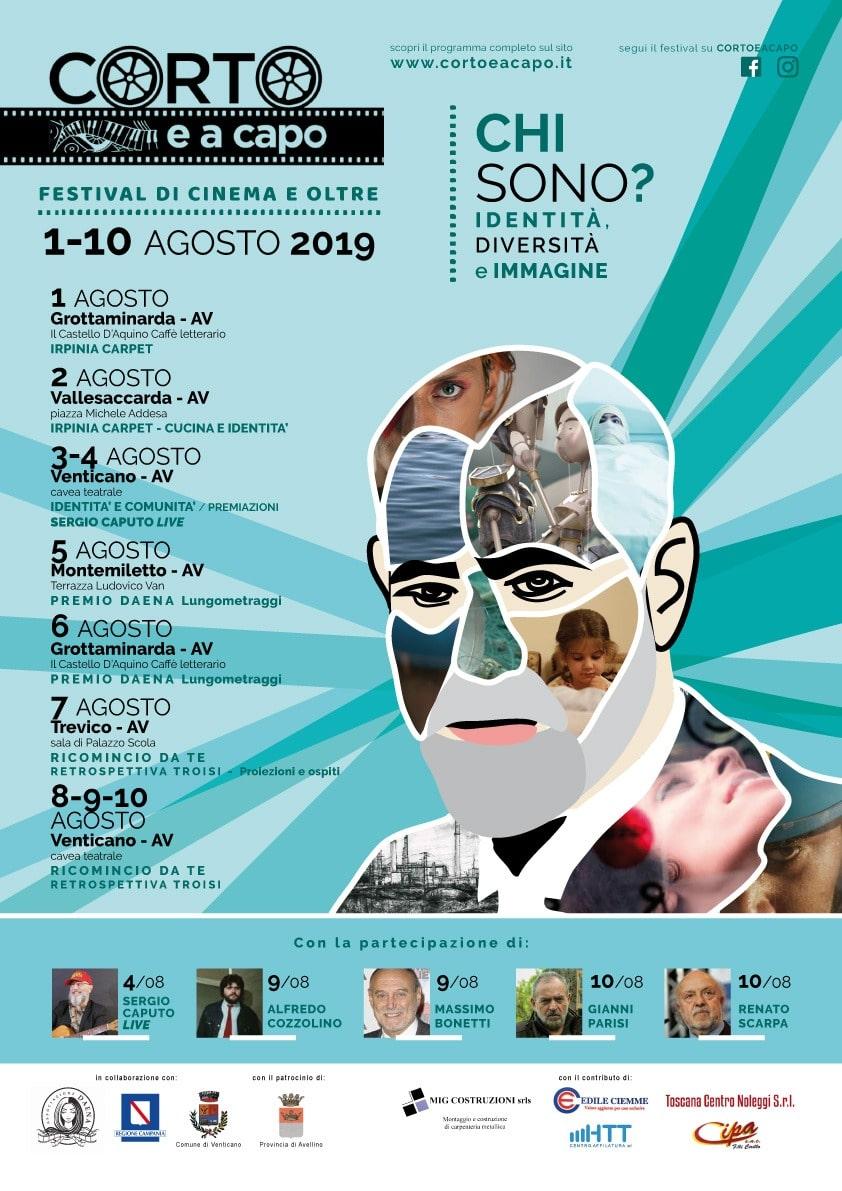 Venticano, arriva Corto e a capo: speciale Massimo Troisi e live di Sergio Caputo