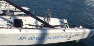 Universiade, Vela: Al Circolo Canottieri le 8 barche azzurre acquistate dall'ARU