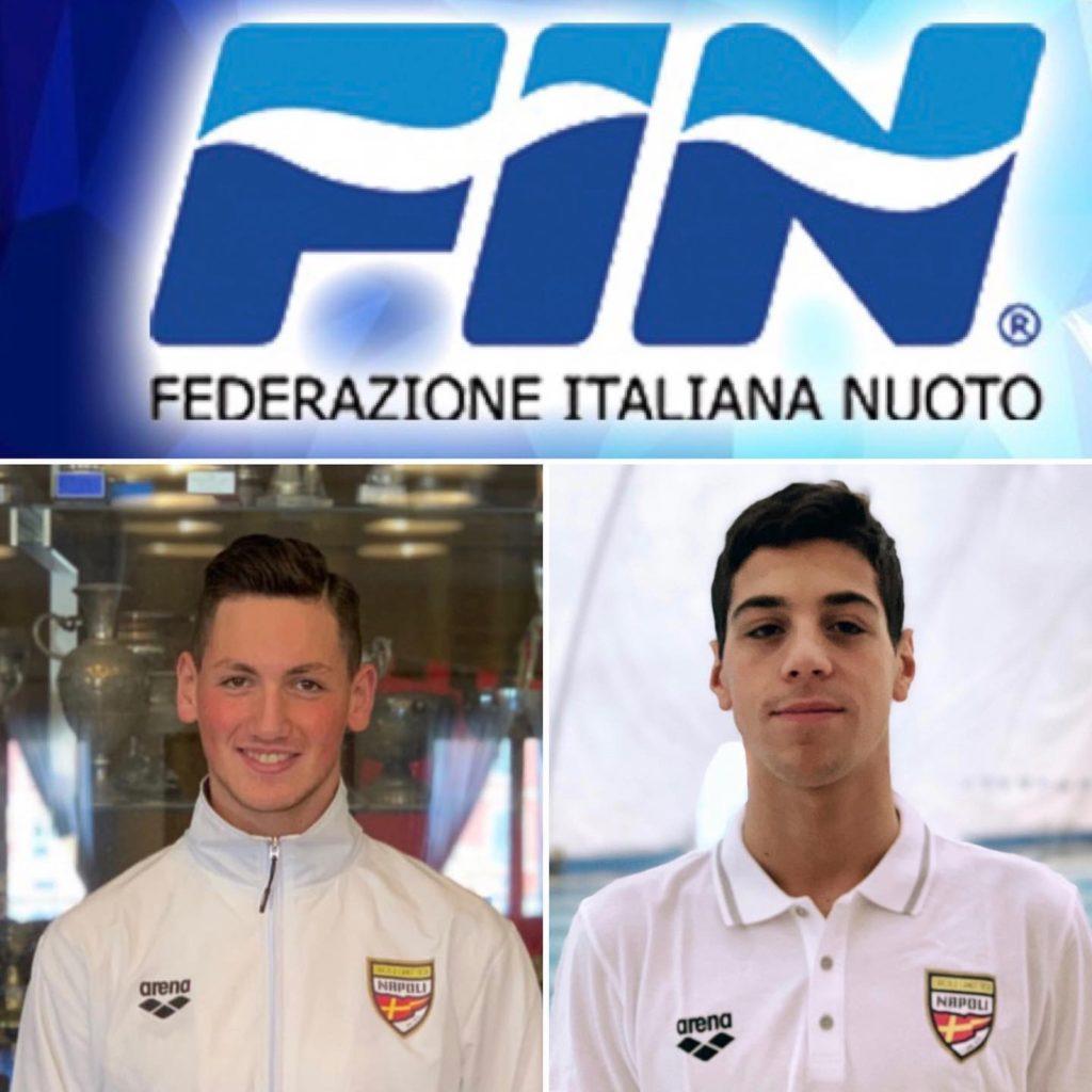 Nuoto: Iaccarino e Giordano del Canottieri Napoli ai Campionati Europei di Racice 2019