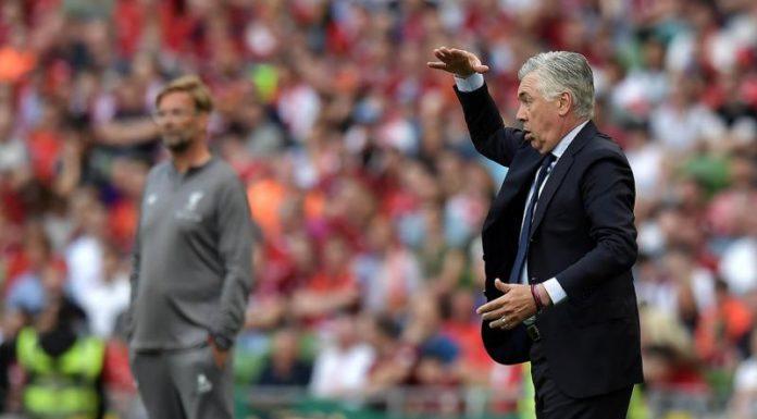 """Liverpool-Napoli, Ancelotti: """"Grande partita, ma non bisogna esaltarsi"""""""
