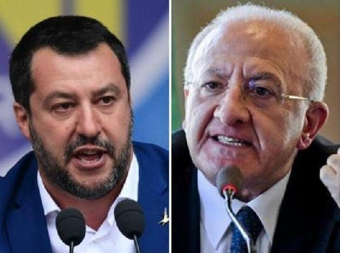 """Vincenzo De Luca a Radio CRC: """"Salvini in Campania? Un turista in più"""""""
