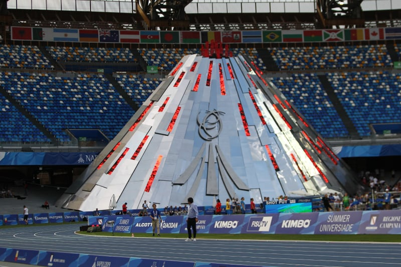 Universiade Napoli 2019: Domani la cerimonia di chiusura si svolgerà allo Stadio San Paolo alle ore 21. Anticipazioni e come seguirla in diretta.