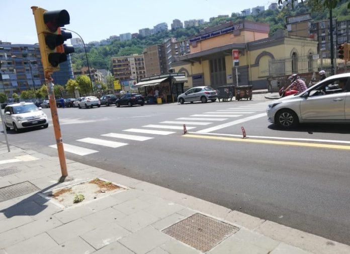 Napoli, caos corsie preferenziali: stop a quelle in via Giulio Cesare e via Acton