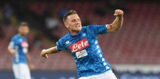 """Calcio Napoli, Zielinski: """"La maggior parte delle colpe è nostra"""""""