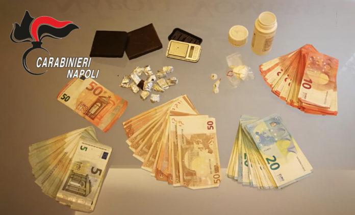 Napoli, Vomero: Droga nelle porte di casa. Carabinieri arrestano 60enne