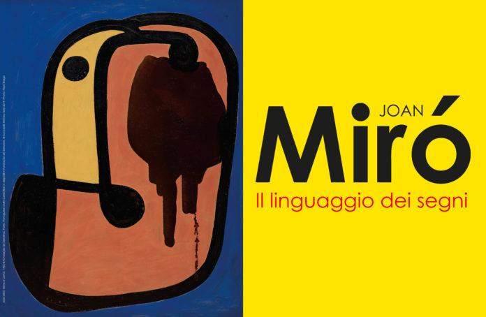 """Al PAN Palazzo delle Arti Napoli l'esposizione dal titolo """"Joan Miró. Il linguaggio dei segni"""""""