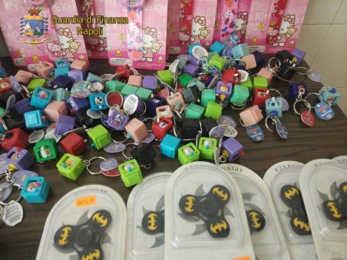 Sequestrati 2,5 milioni di giocattoli a San Giorgio a Cremano e Casoria