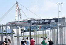 Juventus-Napoli, niente napoletani nel settore ospiti