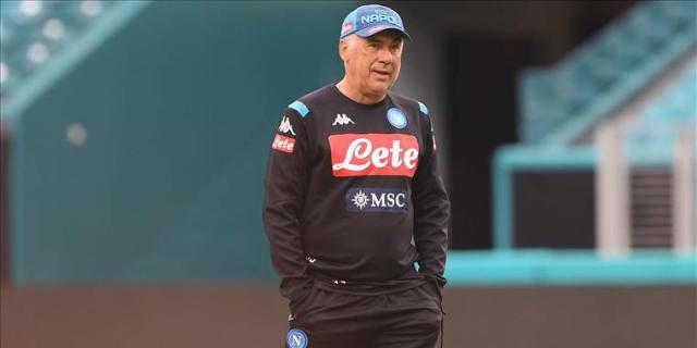 """Calcio Napoli, Ancelotti: """"Scudetto? Vogliamo provarci"""""""