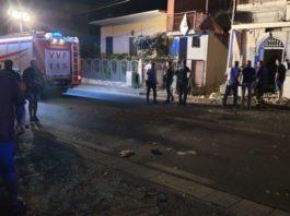 Terzigno, esplode bomba davanti a una casa: un passante è stato ferito