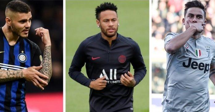 Calciomercato, Napoli beffato: la Juve torna su Icardi grazie a... Neymar