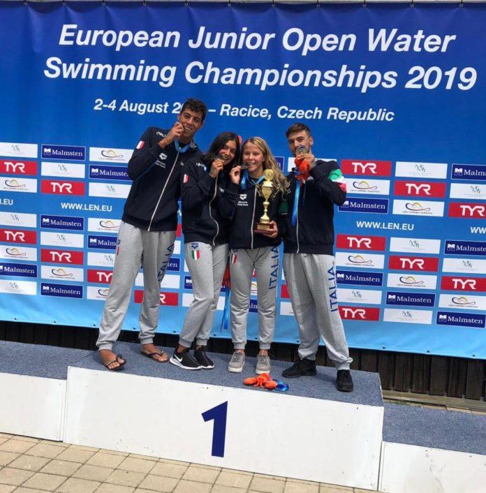 Nuoto, Canottieri Napoli: Giulio Iaccarino Campione d'Europa