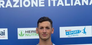 Nuoto, Pasquale Giordano vince la medaglia d'argento ai Campionati Italiani